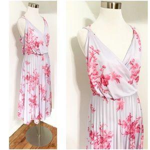 NWT ASOS Floral Midi Dress